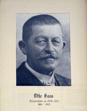 Otto Haas 1896 - 1902 und 1908 - 1912