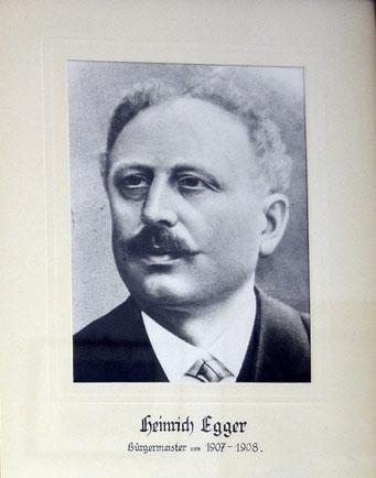 Heinrich Egger 1907 - 1908