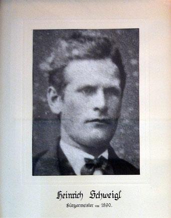 Heinrich Schweigl - 1890