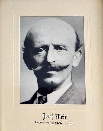 Josef Mair 1919 - 1922