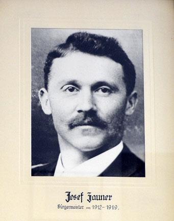 Josef Zauner 1912 - 1919