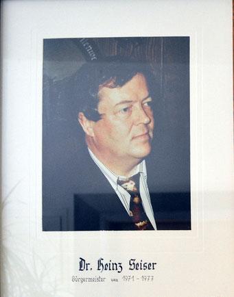 Heinz Seiser 1971 - 1977