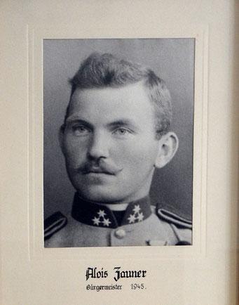 Alois Zauner 1945