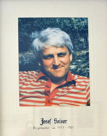 Josef Seiser 1977 - 1983