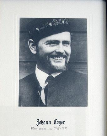 Johann Egger 1969 - 1971