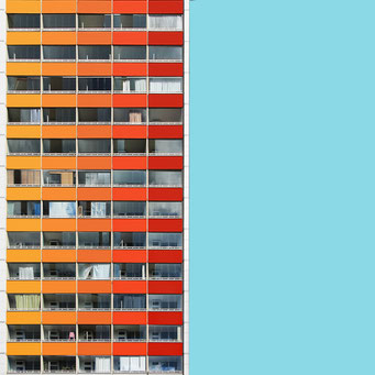 Excel Table - Berlin colorful facades modern architecture photography
