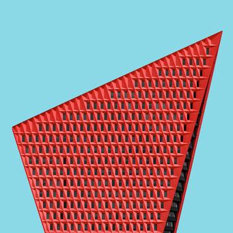 sail - den haag colorful facades modern architecture photography