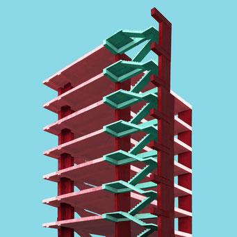 unfinished building - Bogotá