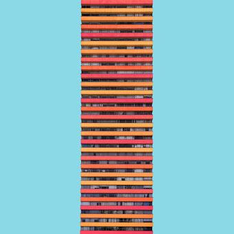 stripes - Bogotá colorful facades modern architecture photography