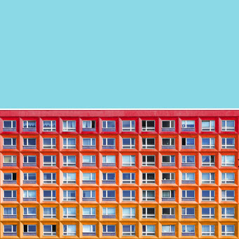 The Wall - Berlin colorful facades modern architecture photography