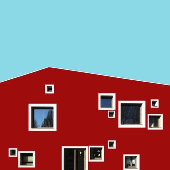 Playful windows - Linz