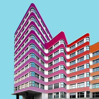 Wavy building - Berlin