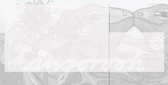 """Postkarte """"liebhaberin"""" / Detail 2 /kängorooh/ 2016"""