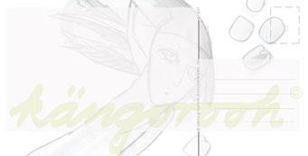 """Postkarte """"engel"""" / Detail 2 /kängorooh/ 2016"""