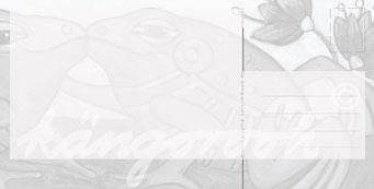 """Postkarte """"liebhaber"""" / Detail 2 /kängorooh/ 2016"""