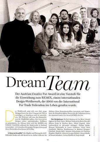 Look Magazin Wien - Beilageblatt Haute Fourrure Austria - Dezember