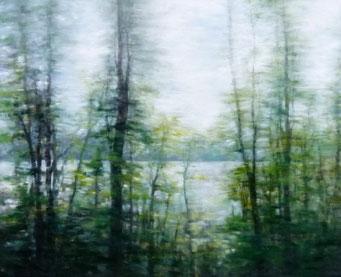 Landschaft 90x110
