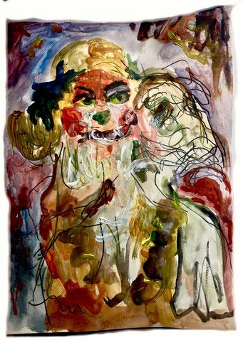 Termoclino Otto Dix (Ellis), cm 38,2x27,6