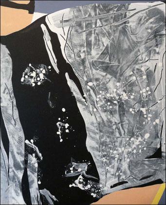 18. acrylique sur toile, 65 x 50 cm.