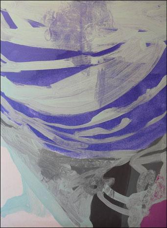 11. acrylique sur toile, 100 x 73 cm.