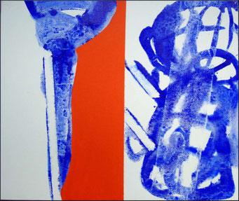 2. acrylique sur toile, 55 x 46 cm.