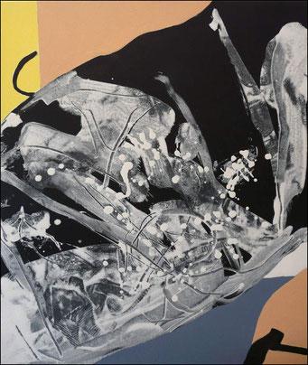17. acrylique sur toile, 65 x 50 cm.