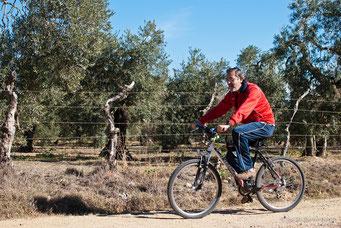 Ruta en bici por el Aljarafe con Felix