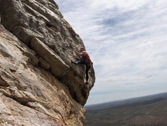 Escalando en la sierra Huelva