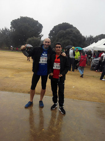 Carrera solidaria con Jorge