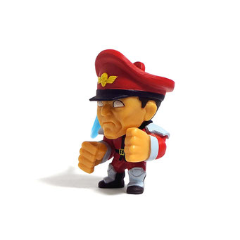 Street Fighter Hanger Figures (M. Bison/ベガ)