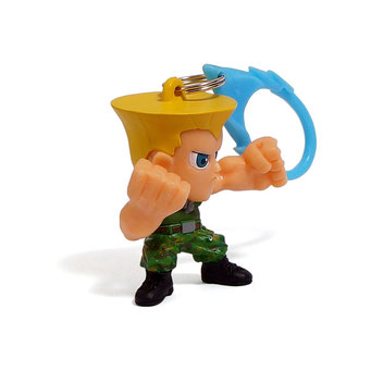 Street Fighter Hanger Figures (Guile)