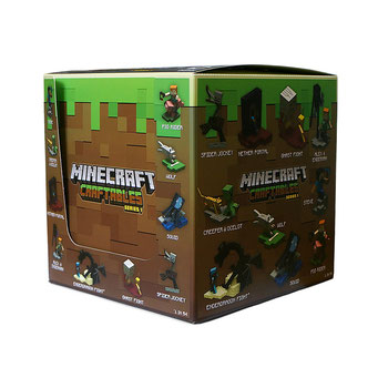 Minecraft Craftables Display  販促ボックス