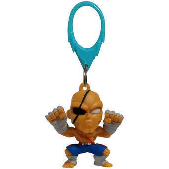 Street Fighter Hanger Figures (Sagat)