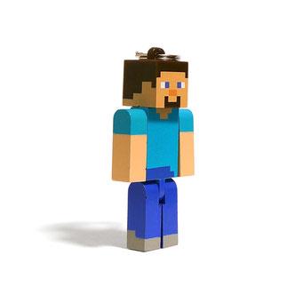 Minecraft Hangers Series 1 Steve