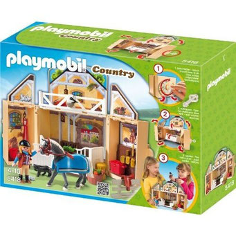 Playmobil : Coffret Ecuries