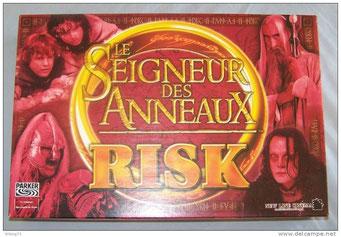 Risk : Seigneur des Anneaux, édité par Parker, basé sur le Seigneur des Anneaux