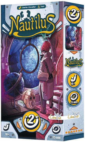 Nautilus, édité par Libellud, basé sur 20000 lieues sous les mers