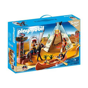 Playmobil - le campement indien
