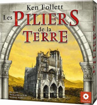 Les piliers de la Terre, édité par Filosofia, basé sur le roman de Ken Follett