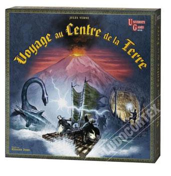 Voyage au centre de la Terre, édité par University Games, basé sur le roman Jules Verne
