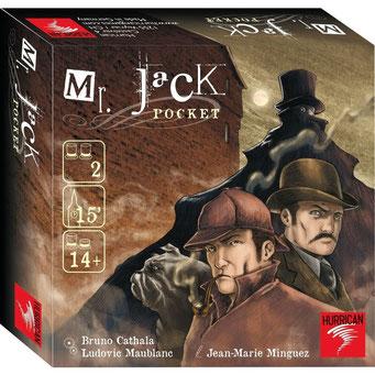 Mr. Jack Pocket, édité par Hurrican Games, basé sur l'histoire de Jack l'éventreur