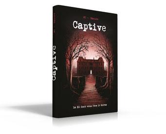 Captive, BD dont vous êtes le héros