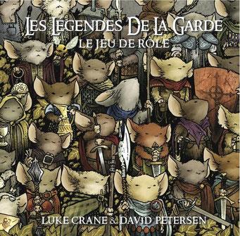 Les légendes de la Garde, édité par Footbridge, jeu de rôle basé sur la BD