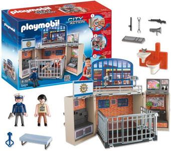 Playmobil : Coffret Poste de Police
