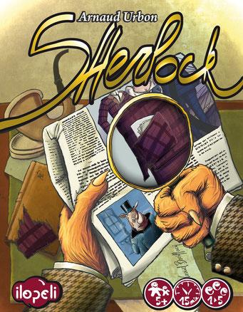 Sherlock, édité par Ilopeli, basé sur les romans de Sherlock Holmes