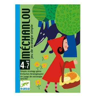 Méchanlou, édité par Djeco, basé sur le petit chaperon rouge