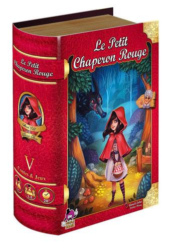 Le petit chaperon rouge, édité par Purple Brain, basé sur le conte du même nom