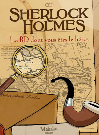 Sherlock Holmes, BD dont vous êtes le héros
