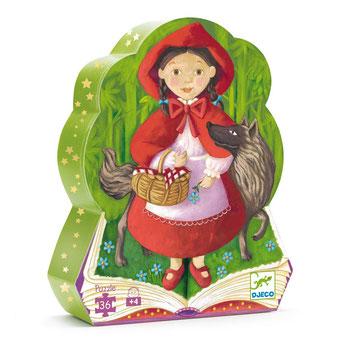 """Puzzle """"Le petit chaperon rouge"""", édité par Djeco, basé sur le conte"""