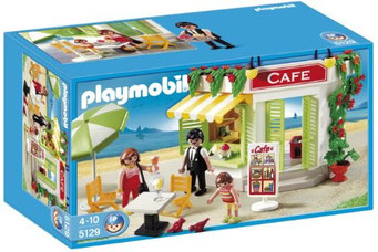 Playmobil - le café du port